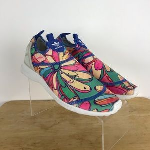 Adidas ZX Flux Smooth Slip ON S75686 shoes sz 6.5